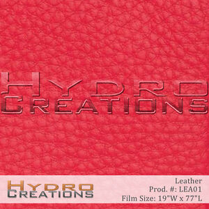 HYDROGRAPHIC FILM FOR HYDRO DIPPING WATER TRANSFER PRINTING FILM LEATHER