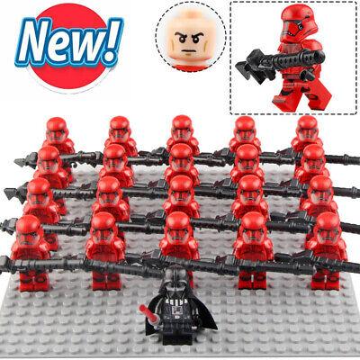 21pcs Set Order Sith Guard Army Military Star Wars Lego Moc Minifigure Toys Ebay