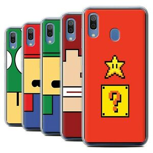 Gel-TPU-Case-for-Samsung-Galaxy-A20-A30-2019-Retro-Gaming-Characters