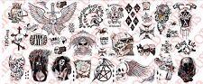 1/6 Scale Custom Tattoos: Gang Set - Waterslide Decals