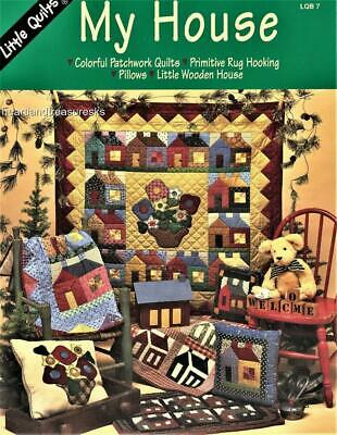 My House Quilts ~ Pillows~Rug Hooking