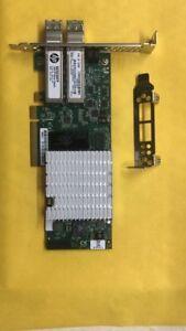 HP-nc523sfp-Dual-Port-10g-593742-001-PCIe-Adapter-2-10gb-850nm-Transce