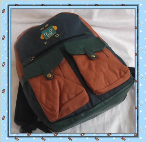 Kids School Bag-UK Seller-Top Quality /& Design New Children/'s Flybot  Backpack
