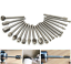 20PCS Tungsten Drill Bits Dremel Set Steel Rotary Burrs High Speed Wood Carving
