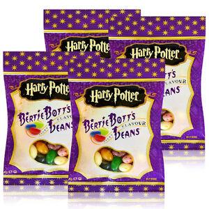 4x-Jelly-Belly-Harry-Potter-Bertie-Bott-s-Beans-Botts-Bean-verzauberte-Bohnen