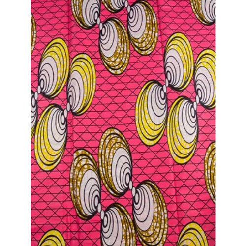 African Ring Pairs Print Fabric BY 1//2 YARD Ankara style kitenge fancy wax p915