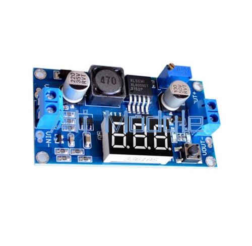 5PCS DC 4.5-32V-5-52V XL6009 Boost Step-up Module Power Supply LED Voltmeter