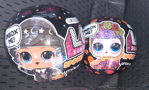 Lol Surprise Spooky Sparkle Witchay Babay /& Bebe Bonita LIMITED EDITION LOT OF 2