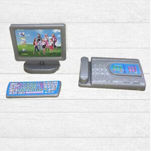Puppenhaus-Miniatur-moderne-Computermoebel-fuer-Puppenkinder-Spielzeugmoebe-YEDE