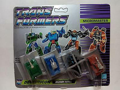 TRANSFORMERS Microcomaster - Decepticon- MILITARY PATROL  *** NEW****