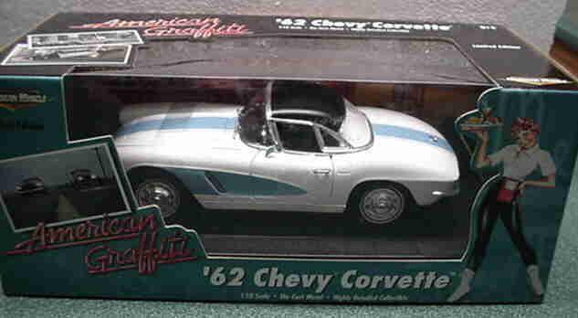 1962 Corvette Hardtop American Graffiti 1:18 Ertl American Muscle 32860