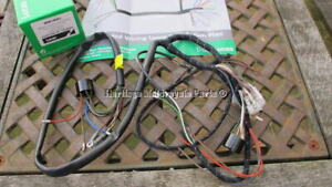 image is loading new-cloth-bound-lucas-wiring-harness-bsa-c15-