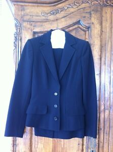 Dolce-And-Gabbana-Black-Blazer-Jacket-And-Skirt-Suit-Size-40-Small