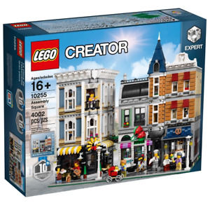 LEGO 10255 Expert Creator Assembly Square Brand New Sealed