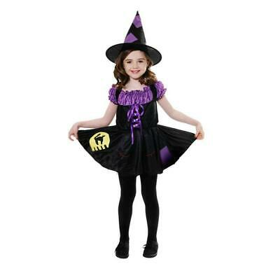 lussureggiante nel design up-to-date styling acquista l'originale Gatto Strega Costume Halloween Vestito Bambine 7-9 Anni | eBay