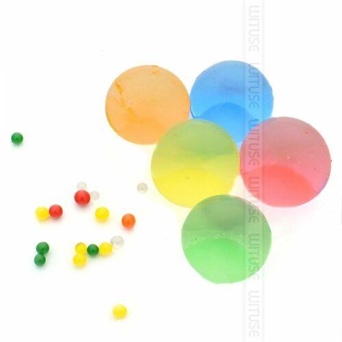 100pcs//lot Large Pearl Big 40mm Crystal Soil Water Beads Jumbo Giant Aqua Balls