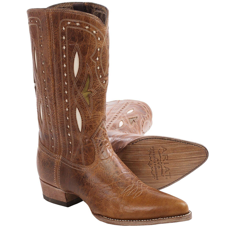 fino al 42% di sconto New in Box Ariat Western stivali donna Starling Leather Gingersnap Gingersnap Gingersnap 10015324 SZ 6  spedizione gratuita