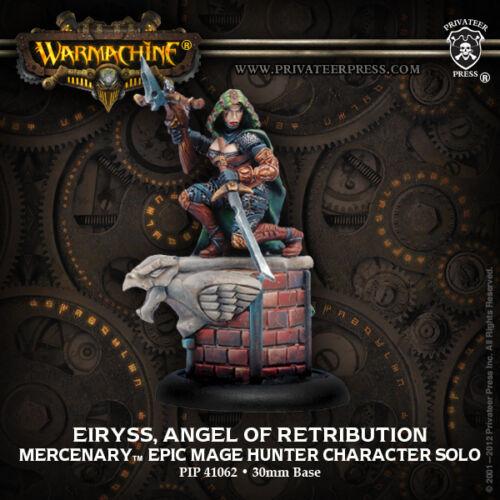 ange de la vengeance Warmachine Hordes Entièrement neuf dans sa boîte mercenaire Epic Eiryss
