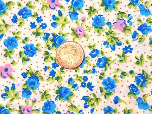 Candide Échelle 1:12 Blanc Matériau Avec Motif Floral Tumdee Maison De Poupées En Tissu M10-afficher Le Titre D'origine Grand Assortiment