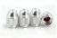 lot de Bouchon Capuchon de valve d/'air aluminium pour Auto Moto Vélo bmx roue