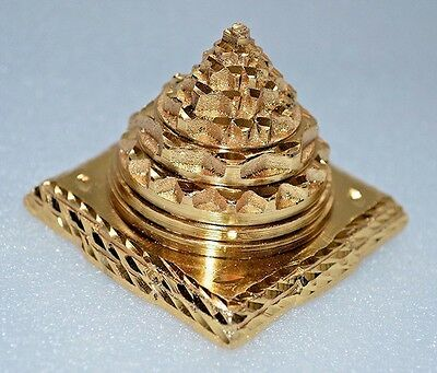 Energized 3D Sri Meru Yantra Shree Yantra Shree Meru Chakra Yantra Sri Lakshmi