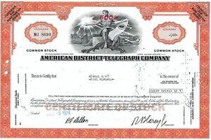 Washington. American District Telegraph Co. - Archives