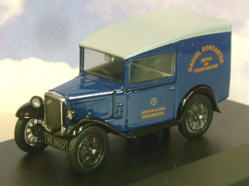 Oxford 1/43 Austin Sieben 7 Rn Lastwagen Daniel Doncaster Motor & Dampf Autos