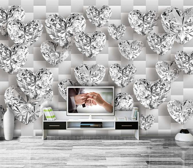 Papel Pintado Mural De Vellón Diamante Patrón 19 Paisaje Fondo De Pantalla ES AJ