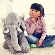 Baby Children Long Nose Elephant Doll Pillow Soft Plush Stuff Toys Lumbar Pillow