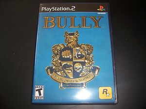 replacement case no game bully sony ps2 playstation 2 100