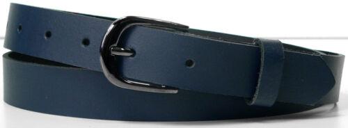 Ledergürtel Damengürtel in 8 Farben BW 70-170 cm Leder Gürtel 2,5 cm breit