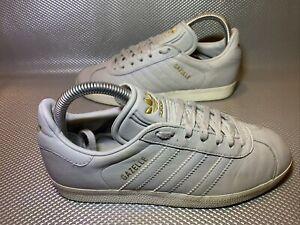 Adidas Gazelle Gris Y Dorado Zapatillas Tamaño 5 ukuk/6.5 US ...
