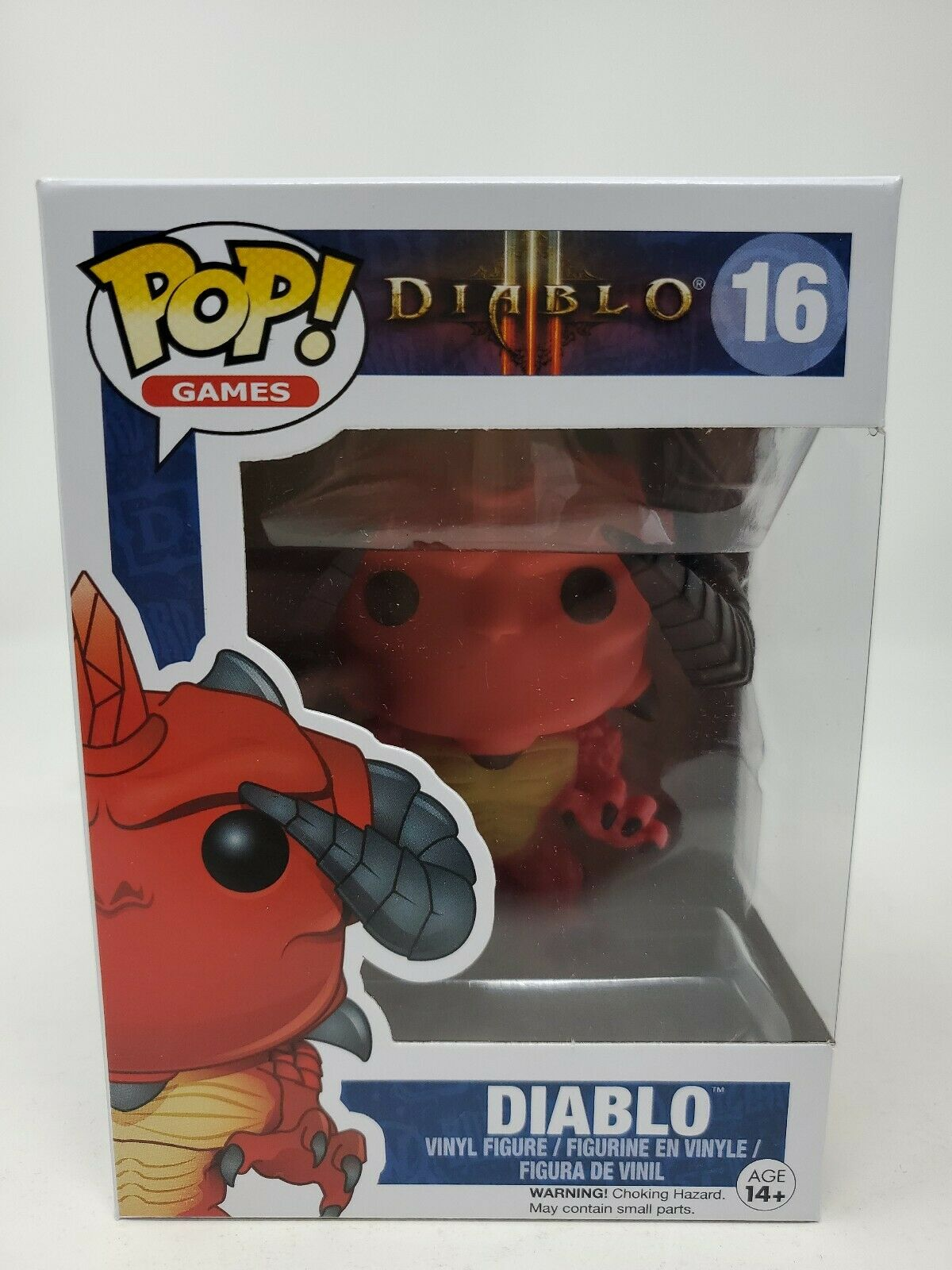 FUNKO POP VINYL #16 RED DIABLO FIGURE GAMES SERIES