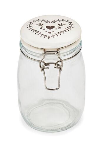 Woodland Glass Storage Jar