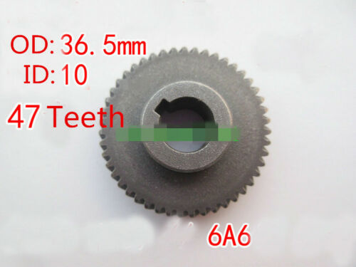 6A6 Hand Electric Hammer Drill Repair Part Helical Gear 47 Teeth 36.5x10x13mm 1