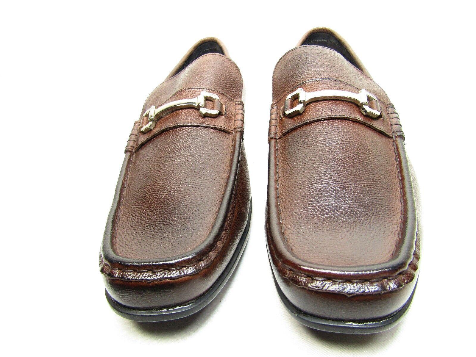molte sorprese Stacy Adams Uomo Ellory Slip-On Loafer Loafer Loafer Marrone Dimensione 13M  al prezzo più basso