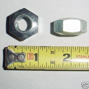 Details about 5 ea 1/2-13 Aircraft Conical Hex Lug Nuts Zinc