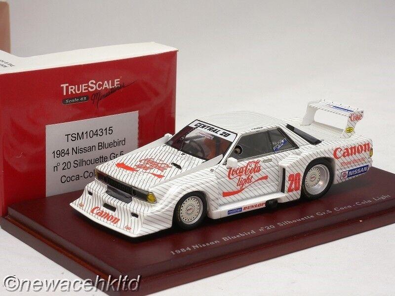 Nissan blubird 1984 silueta GR.5 TrueScale Modelos 1 43  TSM104315