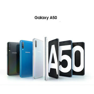 A50 Samsung Galaxy SM-A505FN/DS 4/128GB ROM Dual SIM Phone Unlocked Original