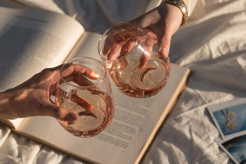 Juego De 12 Copas De Plástico Para Vino Champagne Cocteles Bebidas Alcohólicas