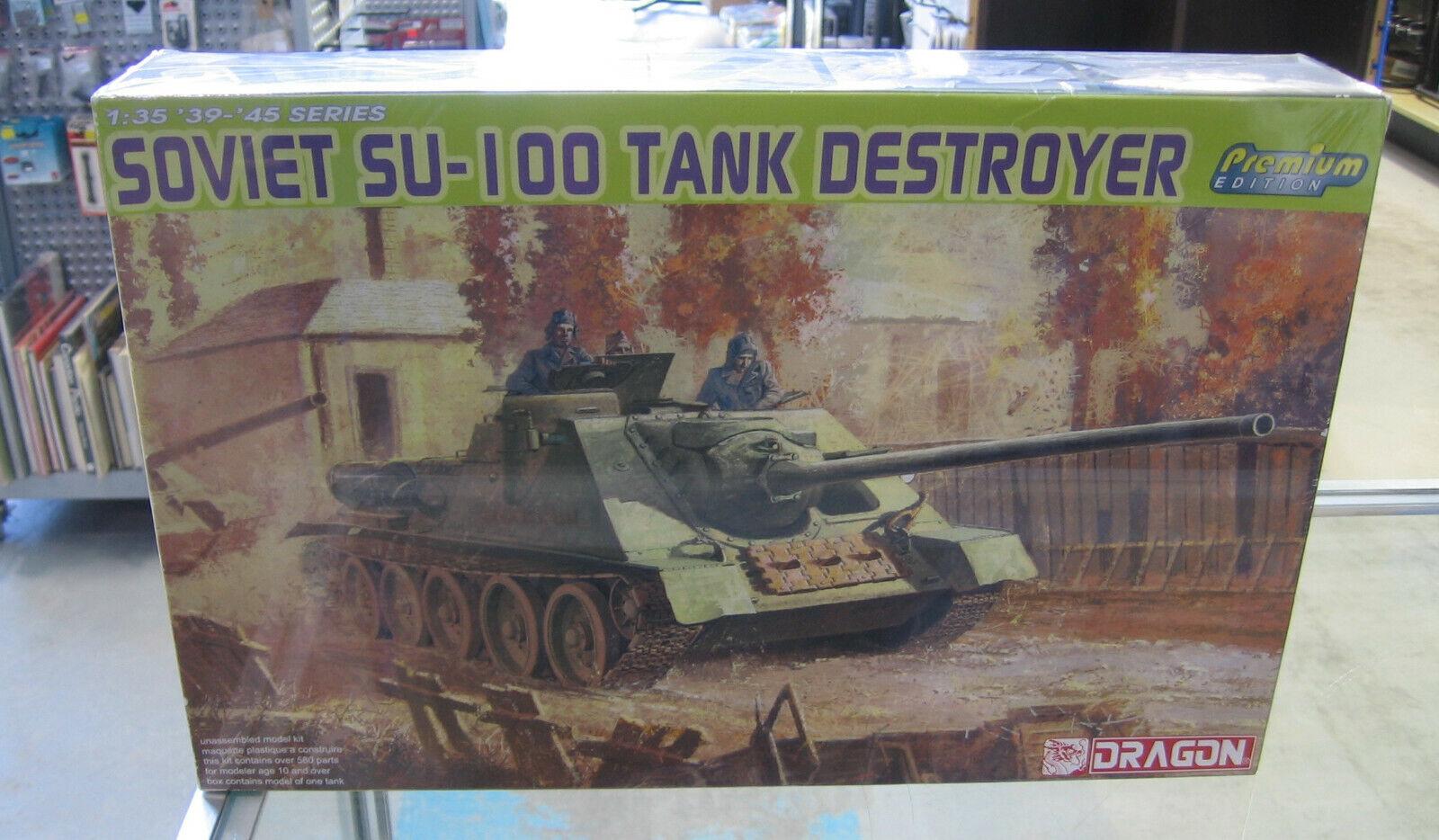 Dragon 1 35 Soviet SU-100 Tank Destroyer 6359