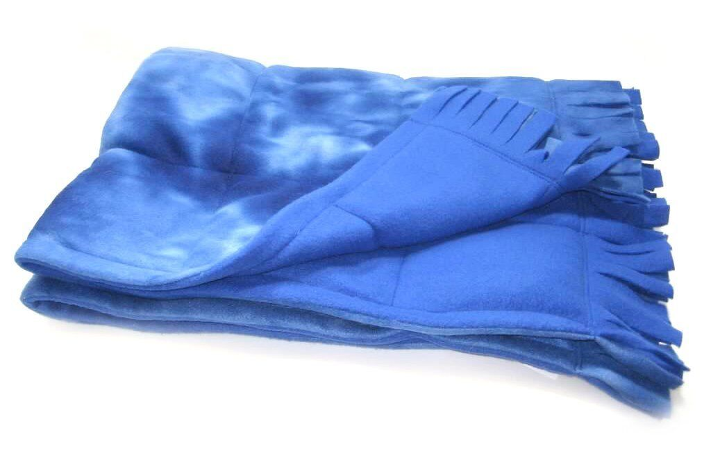 Small Fringed Weighted Blanket (5 Lb - 30x42) - Sensory Tool, Special Needs Aid