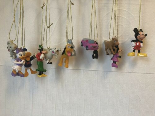 Disney Minnie and Mickey Mouse and Friends Christmas Tree Decorations x 12