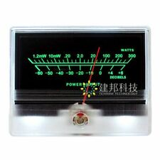 Tn 90a Vu Panel Meter Db Header Audio Power Amplifier Chassis With Backlight Led