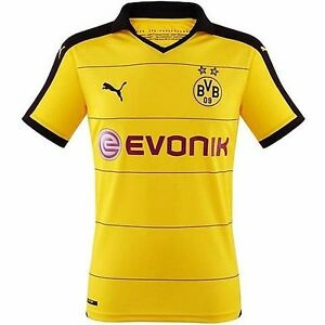 reputable site f5d90 2165e Details about Borussia Dortmund 2014-15 Home *PULISIC #22* Jersey (Medium)  *BRAND NEW W/TAGS*