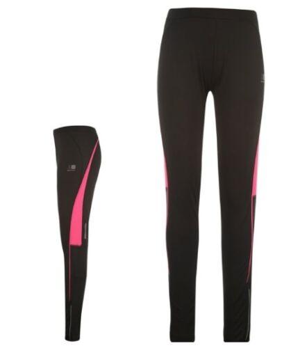 Karrimor Damen Lauf Jogging Hose Tight lang Schwarz Pink alle Größen Neu