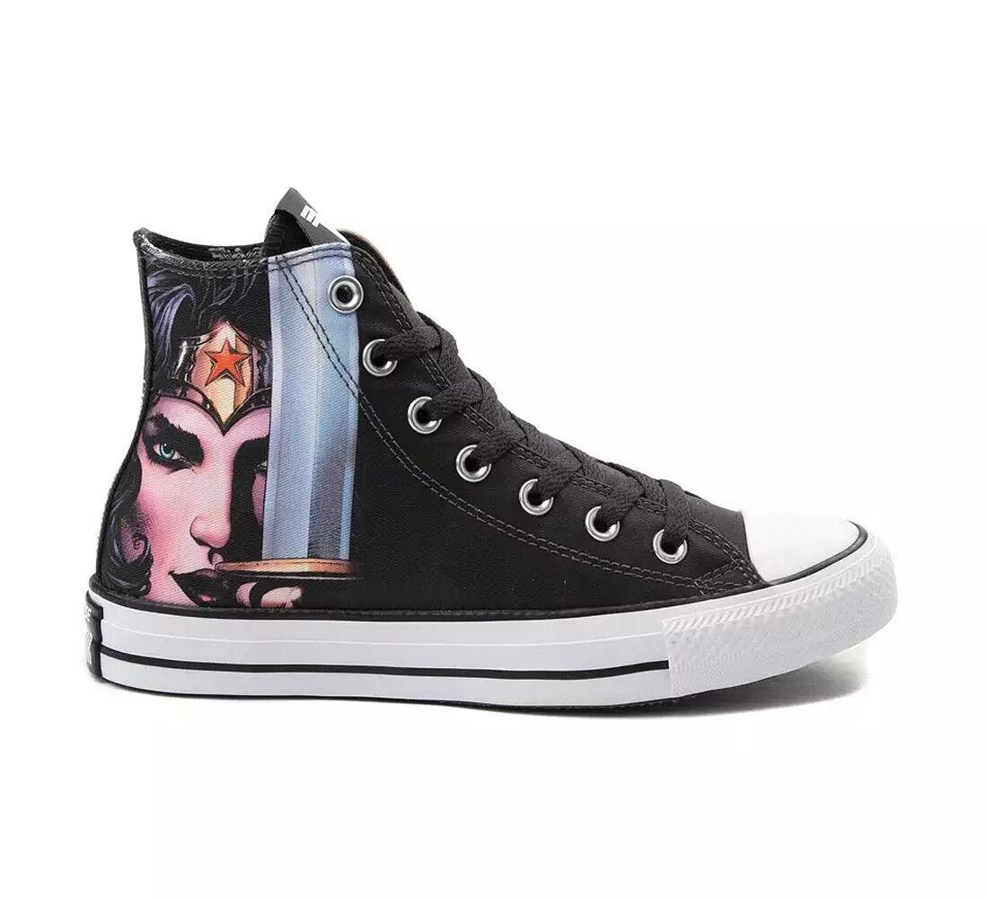 Converse Schuhe Sneaker CTAS All Star HI Wonderwoman Schwarz Unisex div. Größen