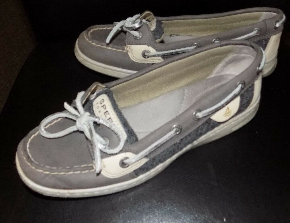 SPERRY TOP SIDER   WOMENS CASUAL  SHOES SIZE  6 USED  L@@K NICE SHOES