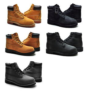 Timberland-boots-youth-Kid-6-inch-Premium-Classic-Suede-nubuck-scuff-water-proof