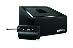 Line-6-G10-Relay-Wireless-Instrument-Guitar-System-Plug-n-Play-Rechargable-New